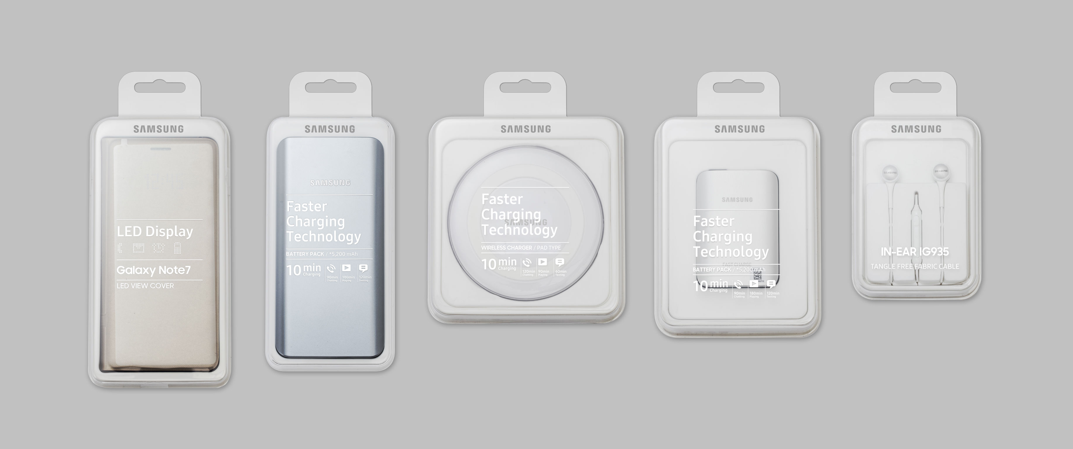 Samsung Accessory Package | iF WORLD DESIGN GUIDE