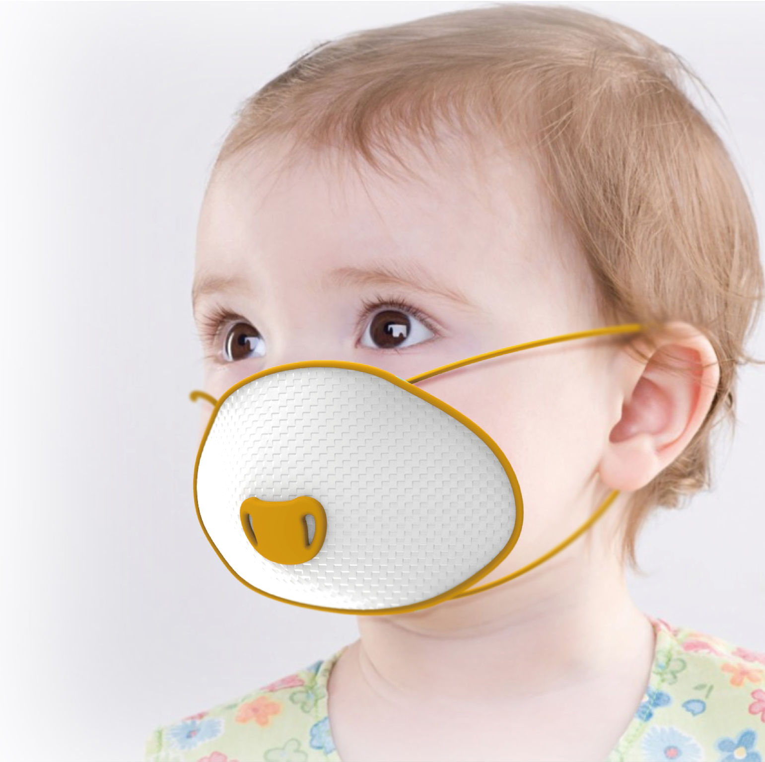 If 2in1 World Design Guide Mask Baby