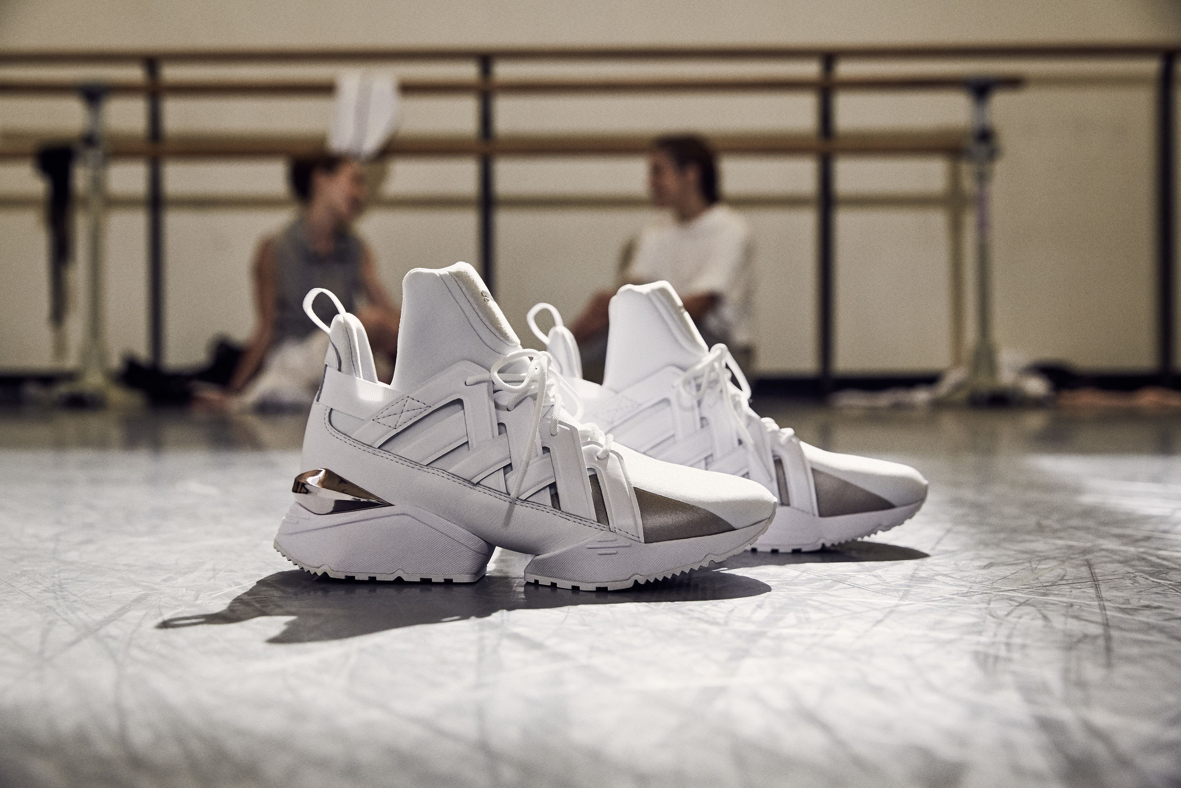 puma muse echo white