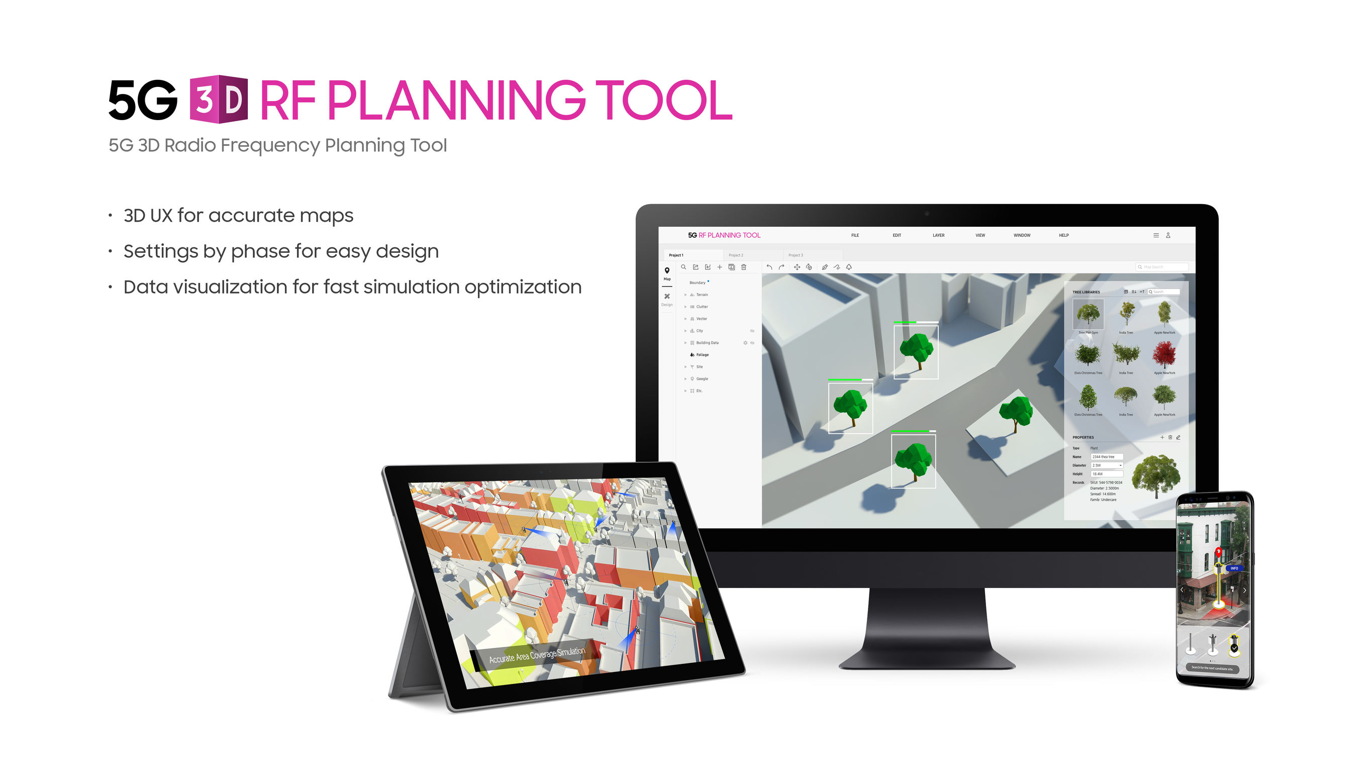 5G 3D RF Planning Tools | iF WORLD DESIGN GUIDE