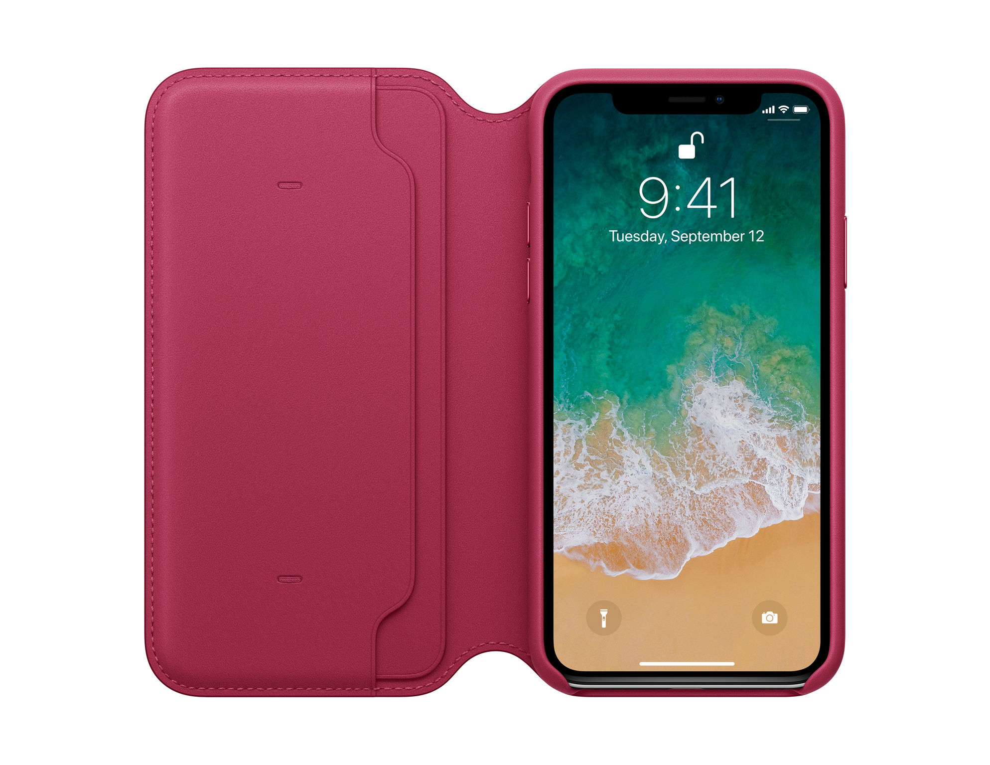 competitive price 899a0 27333 iPhone X Leather Folio | iF WORLD DESIGN GUIDE