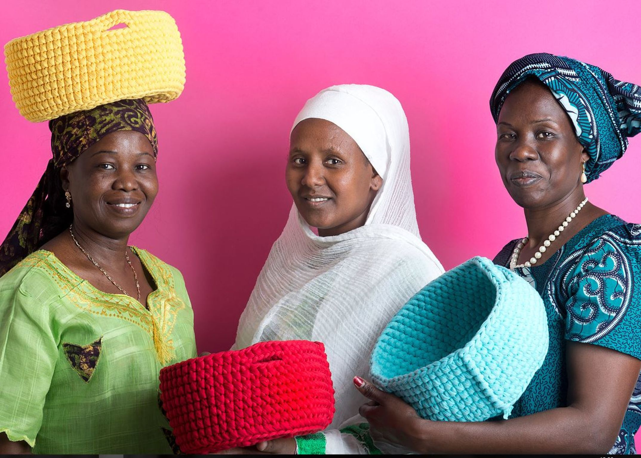 Kuchinate - African Refugee Women's Collective   iF WORLD DESIGN GUIDE