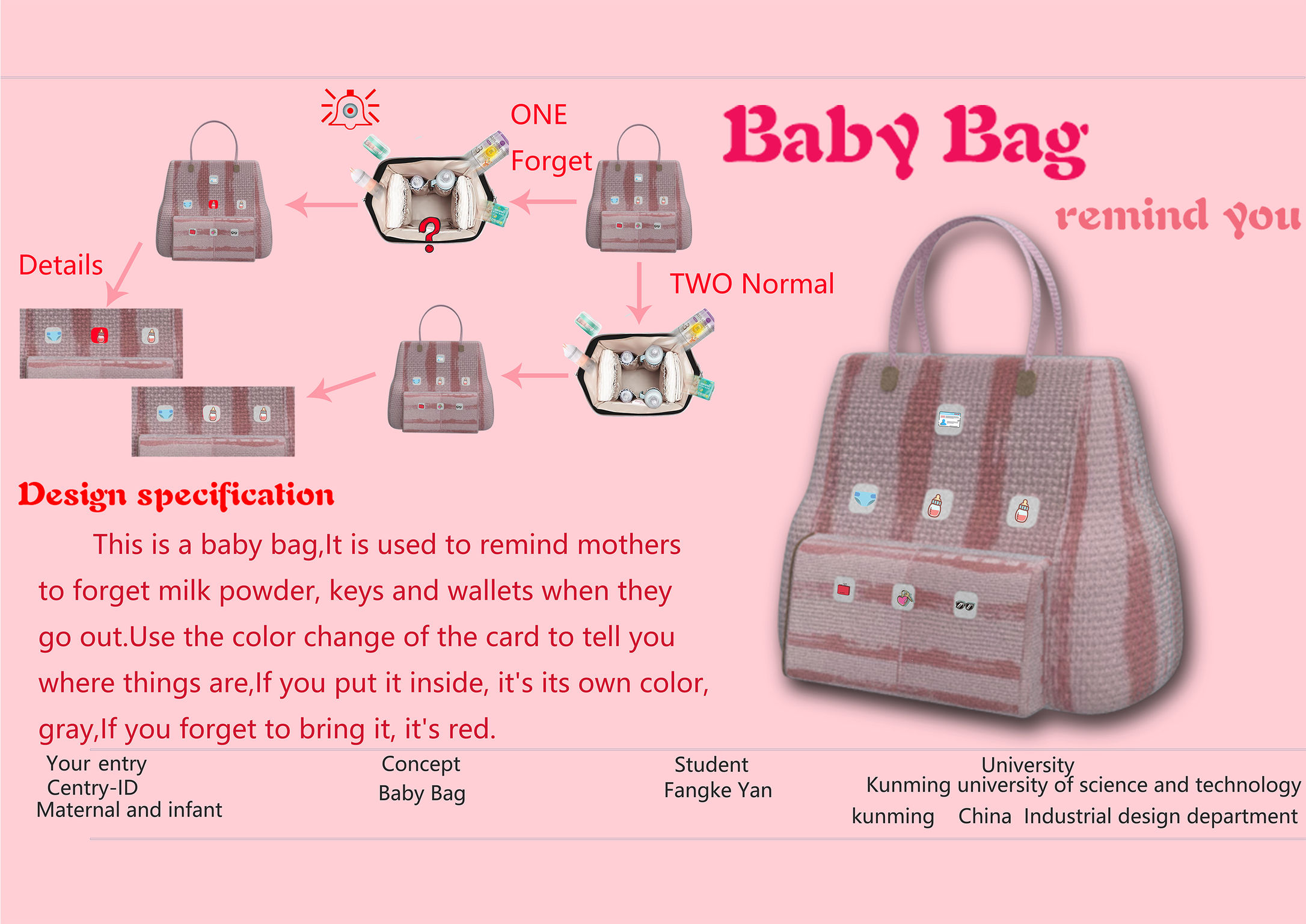 Baby Bag If World Design Guide