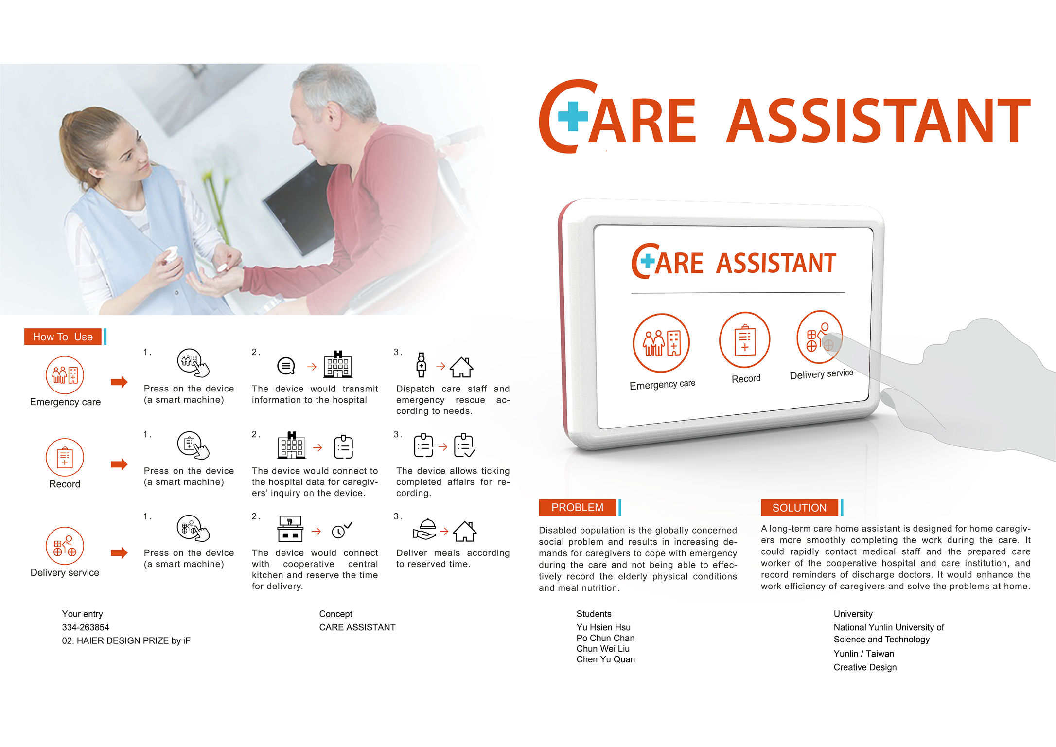 CARE ASSISTANT | iF WORLD DESIGN GUIDE