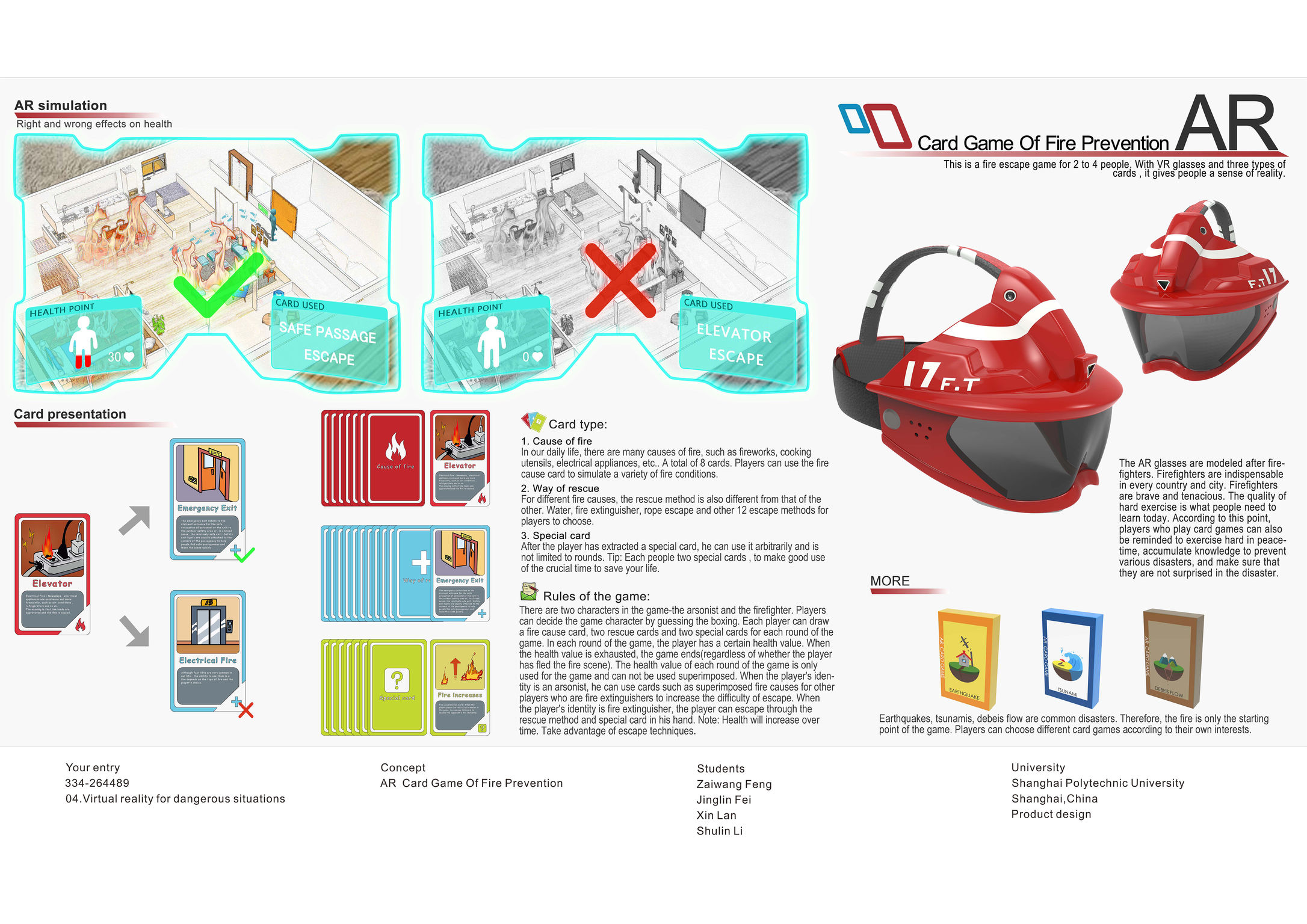 AR Card Game of Fire Prevention | iF WORLD DESIGN GUIDE