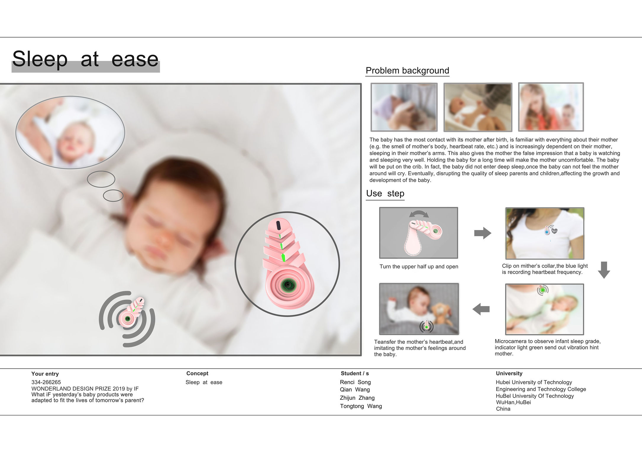 Sleep at ease | iF WORLD DESIGN GUIDE