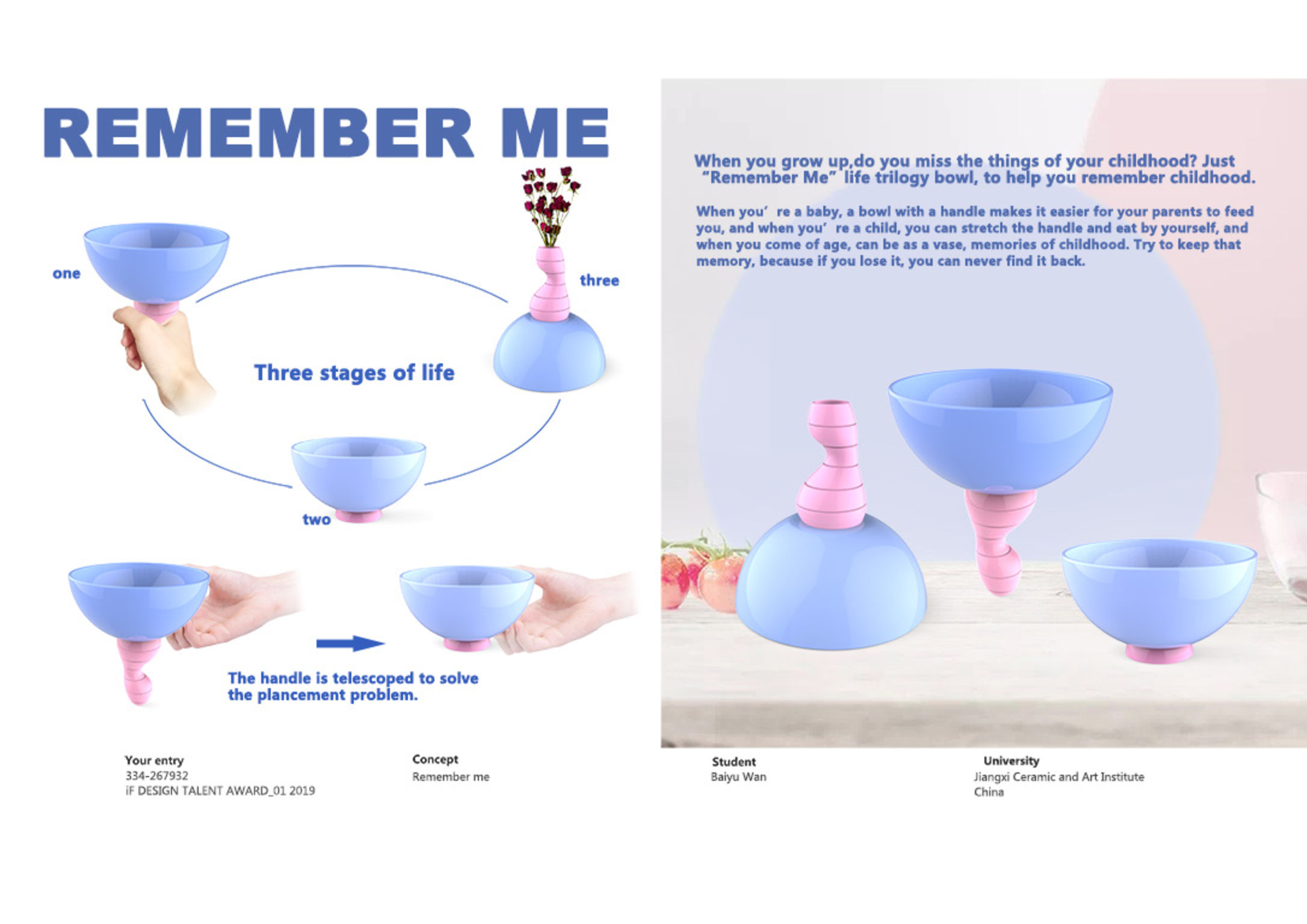 Remember me | iF WORLD DESIGN GUIDE