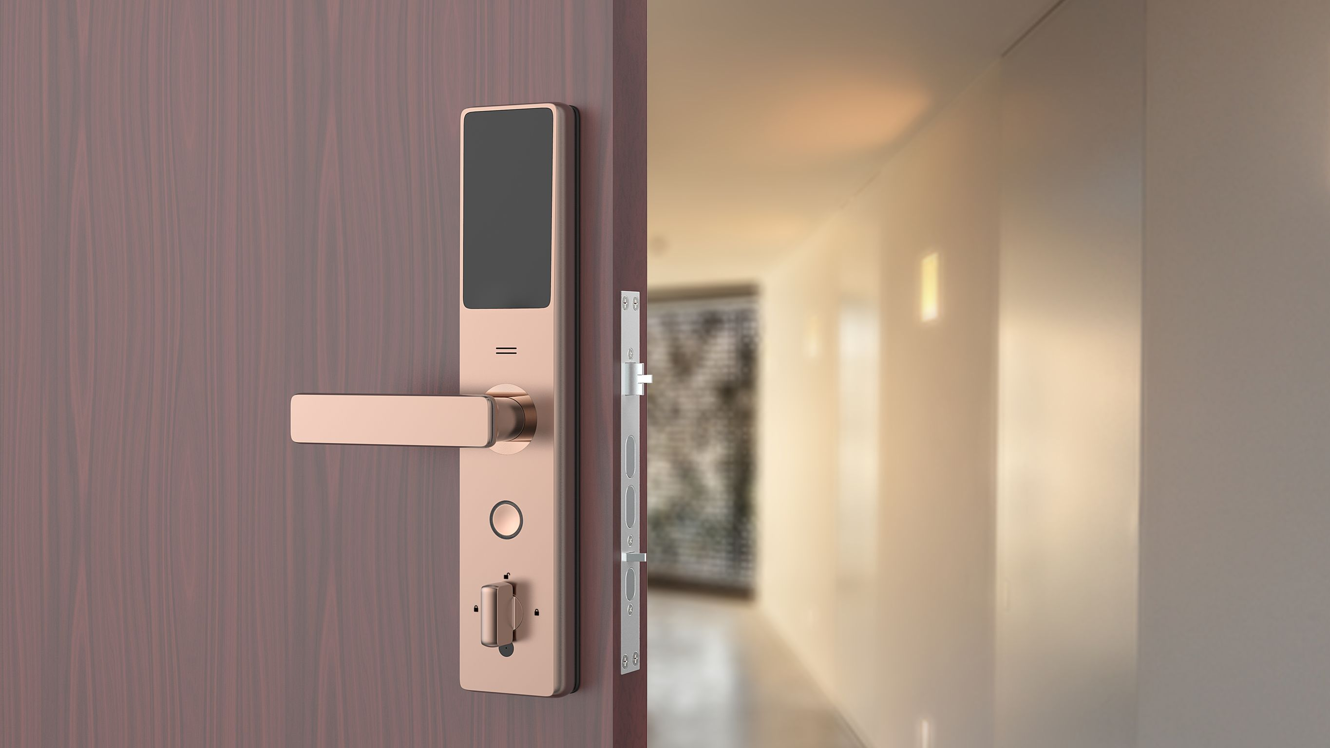 Video Door Lock If World Design Guide