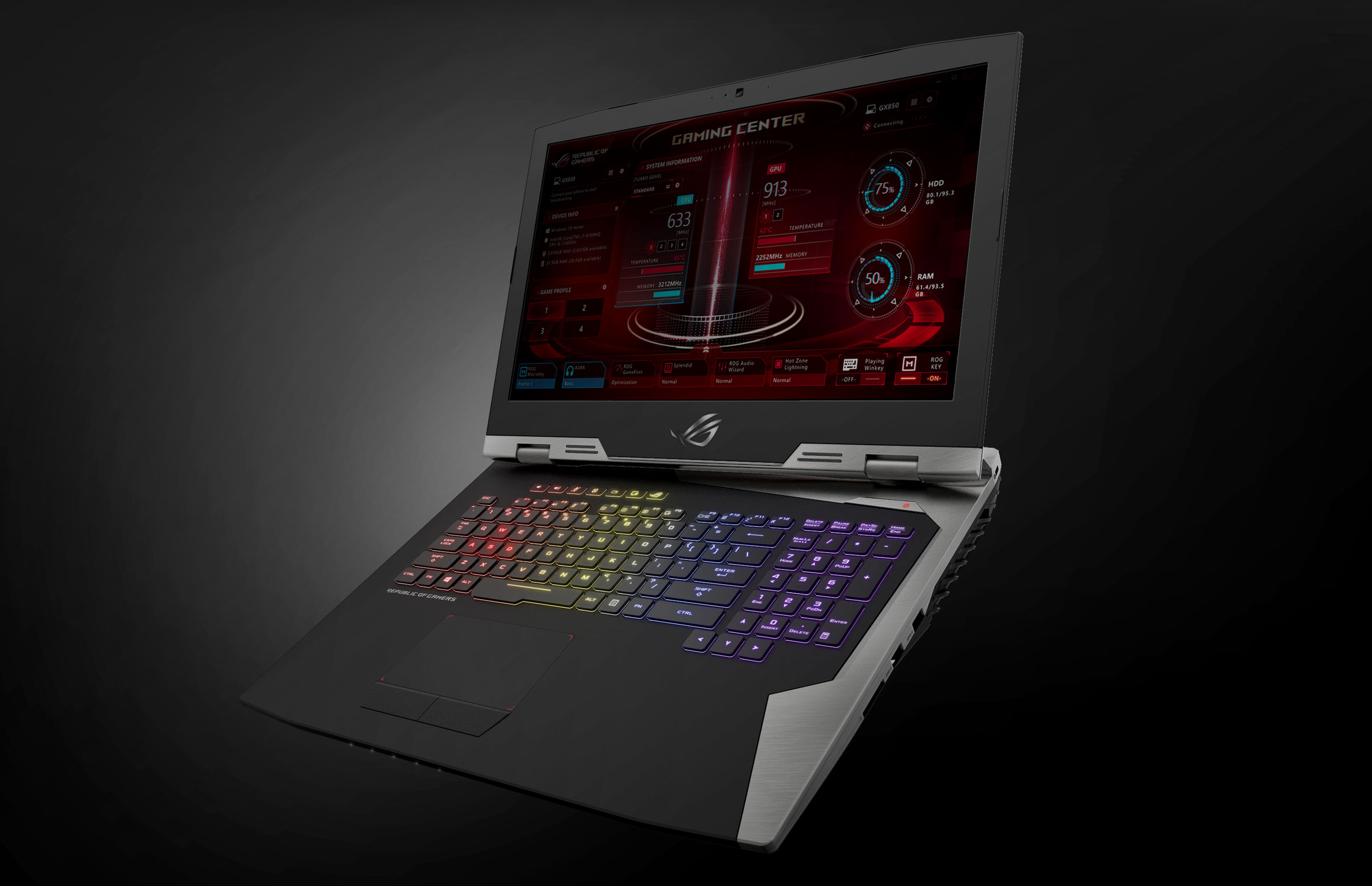 ASUS ROG G703 Series | iF WORLD DESIGN GUIDE