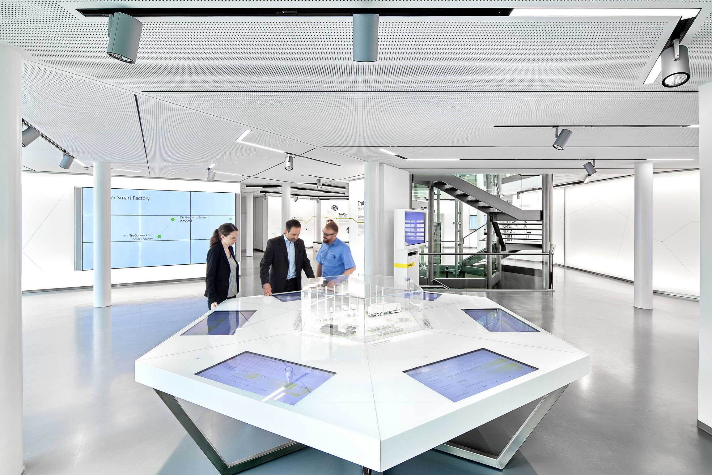 TRUMPF Visitor Forum | iF WORLD DESIGN GUIDE