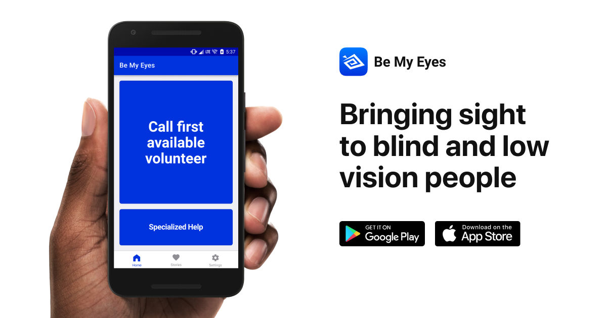 Be My Eyes app | iF WORLD DESIGN GUIDE